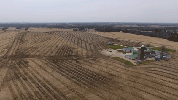 MF Farm Drainage - Farm Aerial